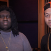 "Lil Bibby & Young Chop In The Lab Working On ""Free Crack 2"""