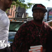 50 Cent Protects Carmelo Anthony From Paparazzi