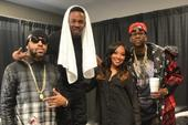 "Photos: Andre 3000, 2 Chainz, T.I., Lil Wayne & More Hit Kanye West's ""Yeezus"" Tour In Atlanta"