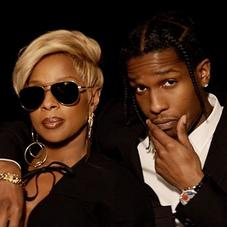 """Mary J. Blige Feat. A$AP Rocky """"Love Yourself"""" Video"""