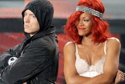 "Eminem & Rihanna Shooting Music Video For ""The Monster"""