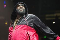 """Rick Ross Performed """"Box Chevy"""" While Walking Adrien Broner To The Ring"""