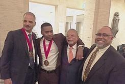 Nas Honored With W.E.B. Du Bois Medal At Harvard