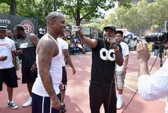 Cam'ron And Jadakiss Hit Up Rucker Park To Celebrate The New Reebok Question Releases