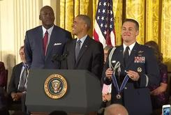 """President Obama Awards Medal Of Freedom To Michael Jordan: """"He's More Than Just A Meme"""""""