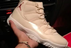 "Mysterious ""Linen"" Air Jordan 11 Surfaces"