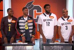 "Watch Jalen Rose, Caron Butler +More Play ""College Knowledge"" On Jimmy Kimmel Live"