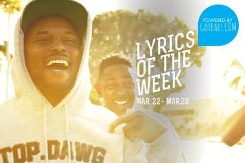 Lyrics Of The Week: March 22nd-28th