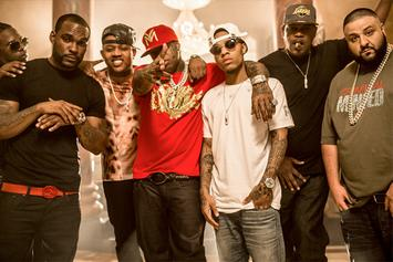 "BTS Photos: Video Shoot For Rich Gang's ""Tap Out,"" With Birdman, Lil Wayne, Future & More"