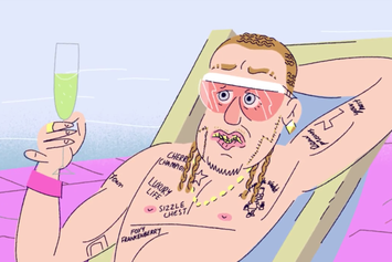 "Riff Raff ""Recalls Pulling An Egg Prank In High School"" Video"
