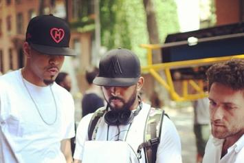 "BTS Photos: Video Shoot For J. Cole's ""Crooked Smile"""