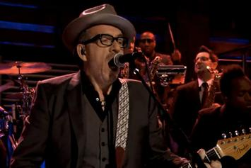 "The Roots Perform ""Walk Us Uptown"" w/ Elvis Costello On Fallon"