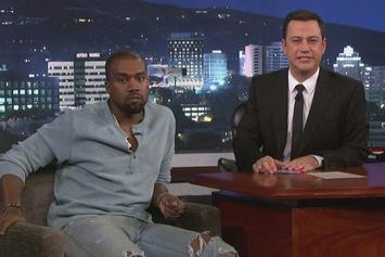 Kanye West Appears On Jimmy Kimmel, Talks About Beef