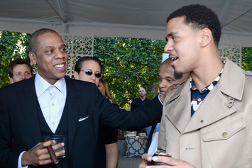 Jay-Z, Rihanna, J. Cole, T.I., Grimes And More Attend Roc Nation's Pre-Grammy Brunch