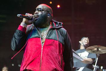 "Rick Ross Discusses Enlisting Mr. Brainwash For ""Mastermind"" Artwork, Beef With Jeezy"