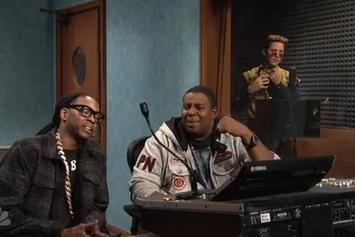"2 Chainz Appears In ""Blizzard Man"" SNL Skit"