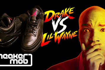 "Word On The Street: ""Drake Vs. Lil Wayne"" Jordan 3s"