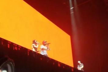 Lil Wayne & Drake Bring Out 50 Cent In Connecticut
