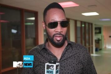 RZA Kicks A Freestyle For MTV News