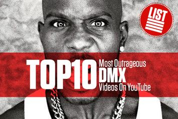 The 10 Most Outrageous DMX Videos On YouTube