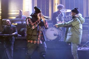 "Big Sean & E-40 Perform ""IDFWU"" Live On Jimmy Fallon"