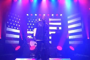 "Lecrae Performs ""Welcome To America"" On Jimmy Fallon"