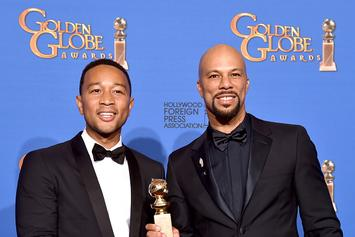 "Common & John Legend Win A Golden Globe Award For Their Track ""Glory"""