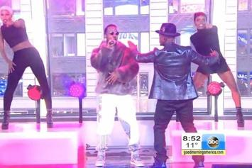 "Ne-Yo & Juicy J Perform ""She Knows"" Live On Good Morning America"
