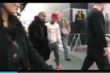 Kanye West Promises Fan Yeezy Boosts In Exchange For Nikes, Defends Last Night's Grammy Comments