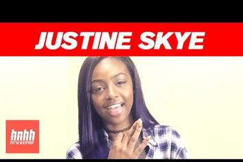 "Justine Skye Talks ""Emotionally Unavailable"" EP, ""Collide,"" & Her Love For ""Trap Queen"""