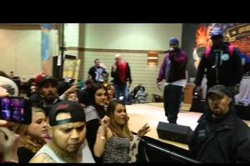 Ghostface Killah Calls Out Heckler In Crowd