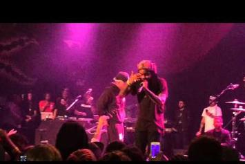 "Wale & Chance The Rapper Perform ""Friendship Heights"" In Chicago"