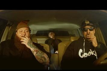 "B Real Interviews Action Bronson In ""The Smokebox"" With Alchemist"