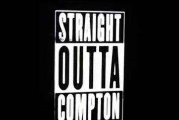 """Ice Cube Previews N.W.A. """"Straight Outta Compton"""" Trailer"""