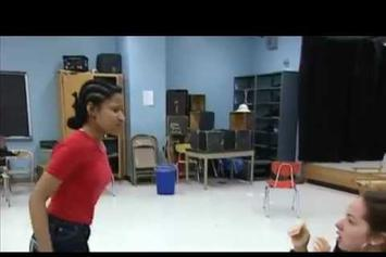 Nicki Minaj Acting In High School Play