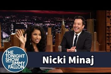 Nicki Minaj Talks On Past Jobs With Jimmy Fallon