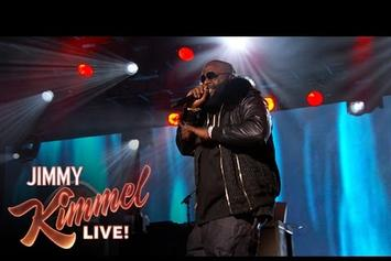 """Rick Ross Performs """"If They Knew"""" On Jimmy Kimmel Live"""