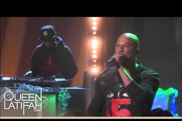 "Common Performs ""Rewind That"" On Queen Latifah Show"