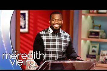 "50 Cent Plays ""50 Cent or 50 Shades of Grey?"" On ""The Meredith Vieira Show"""