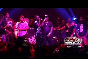 "Jeezy Brings Out Bobby Shmurda At ""Seen It All"" Release Party"