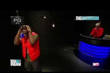 "Young Dro Freestyles On BET's ""The Backroom"""