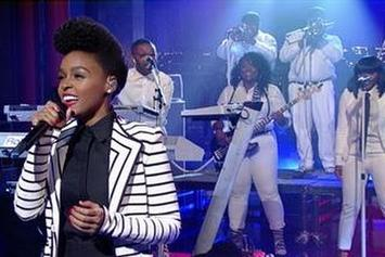 "Janelle Monáe ""Heroes (Live On David Letterman)"" Video"