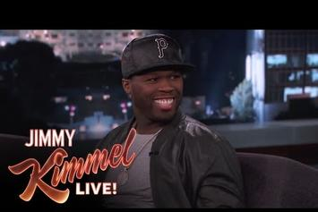 50 Cent Speaks On Opening Pitch With Jimmy Kimmel