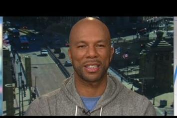 Common Talks Chicago Youth Initiative On CNN