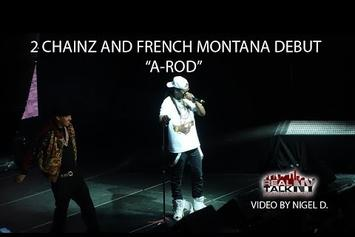 """2 Chainz & French Montana Peform New Song, """"A-Rod"""" In NYC"""