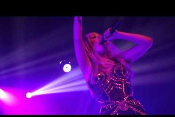 "Iggy Azalea Debuts New Song ""Goddess"" In L.A."