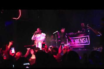 """Vic Mensa Brings Out Rockie Fresh To Perform """"Time Is Money"""""""