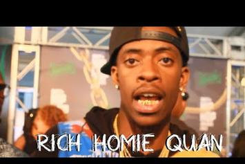 "Rich Homie Quan Talks On ""Type Of Way (Remix)"""