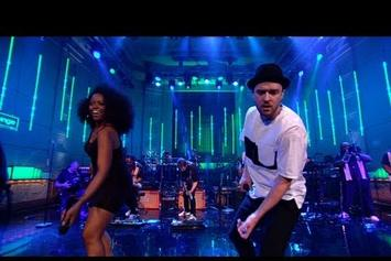 "Justin Timberlake Covers The Jacksons' ""Shake Your Body Down (To The Ground)"" Live"