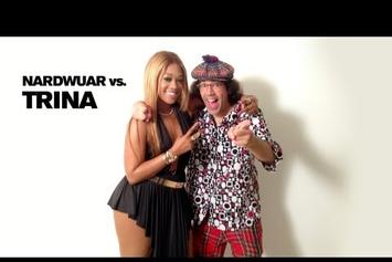 "Trina ""Nardwuar Vs. Trina"" Video"
